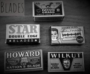 Vintage Razor Blades