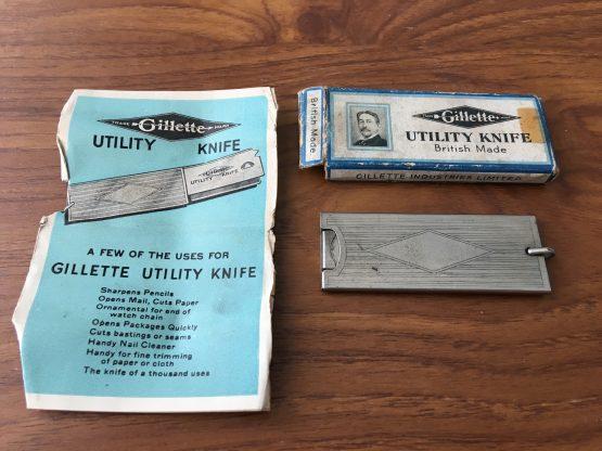 Vintage Gillette Utility Knife