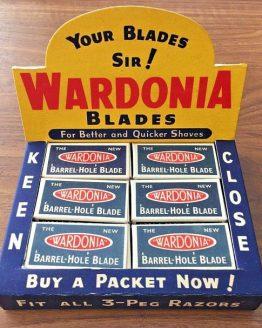 Wardonia Razor Blade Display