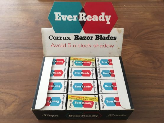 Vintage Ever Ready Razor Blade Display
