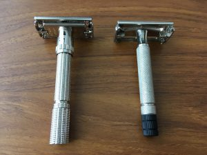 Cleaning vintage safety razor