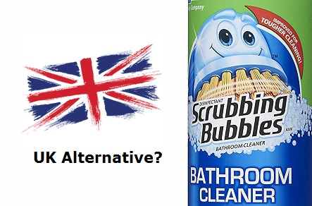 Scrubbing Bubbles UK Alternative