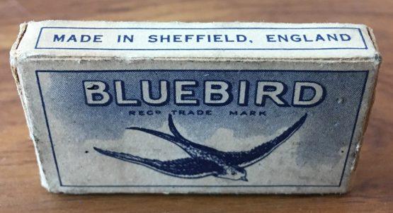 Vintage Bluebird Razor Blades